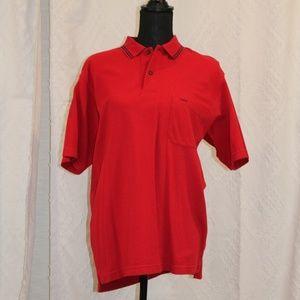Izod Short Sleeve Polo Red